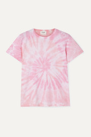 RE/DONE Classic tie-dyed cotton-jersey T-shirt