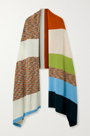 Missoni Striped wool-jacquard wrap