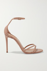 Aquazzura Purist 105 leather sandals