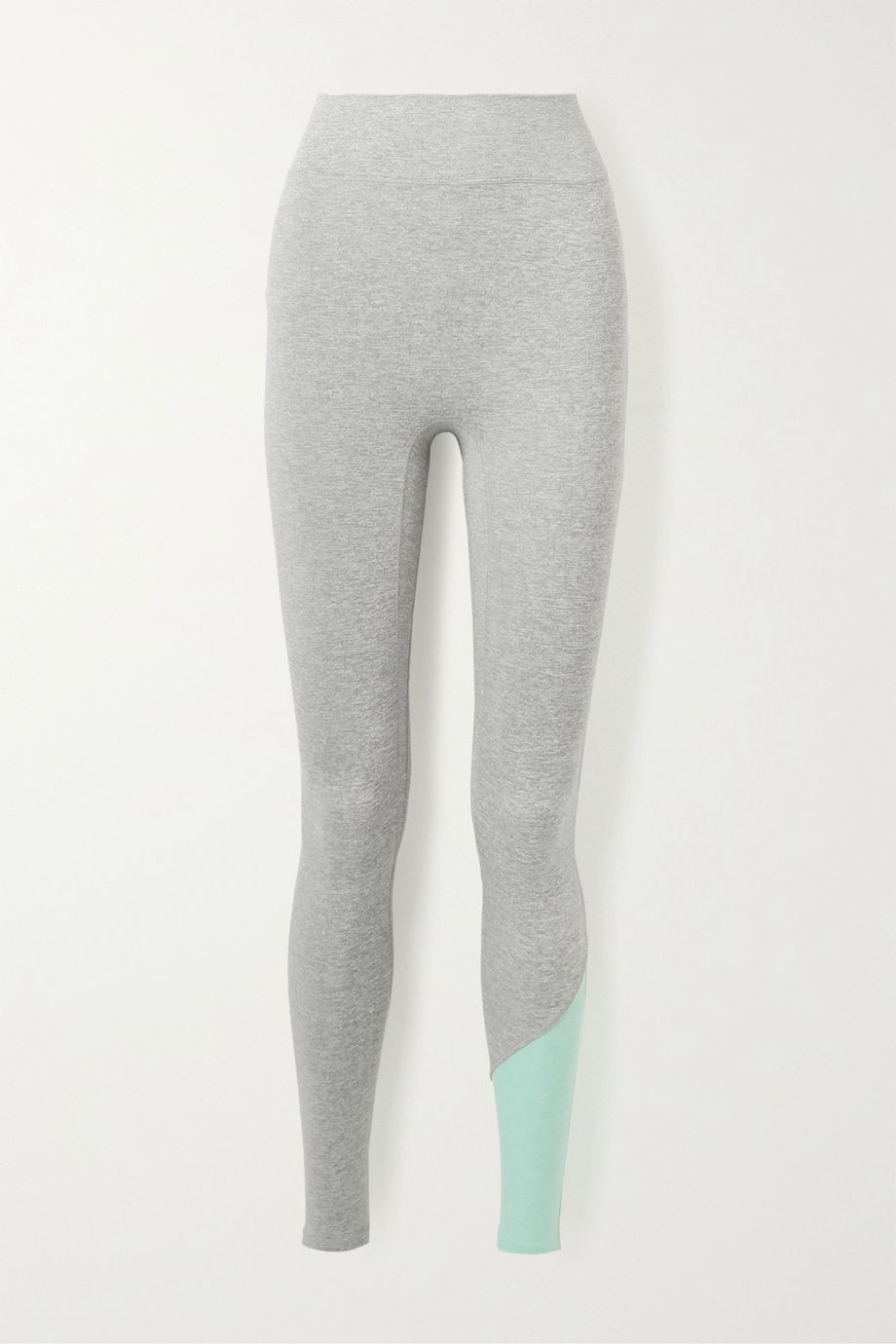 We Over Me Inversion two-tone stretch-jersey leggings