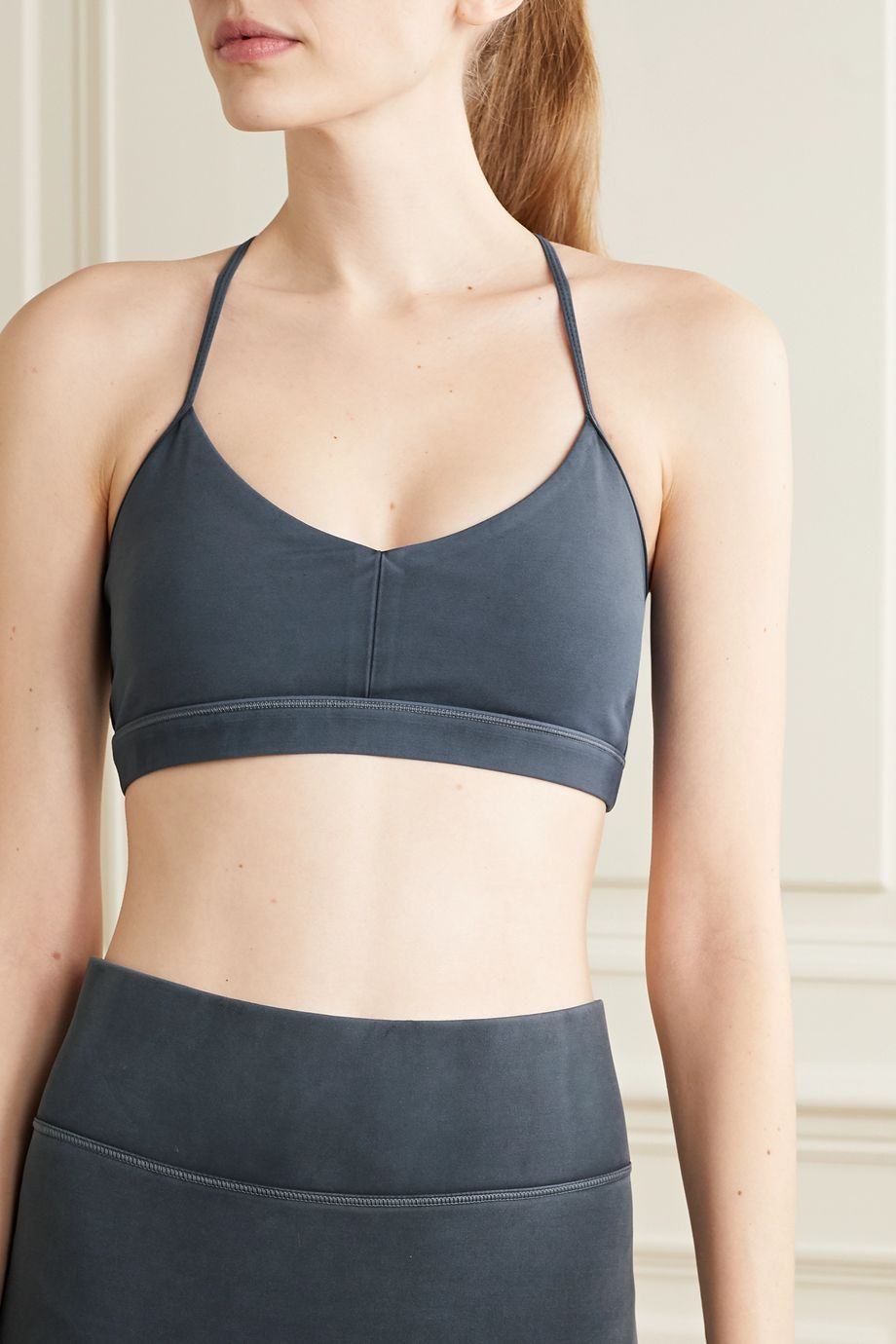 We Over Me Bliss stretch-jersey sports bra