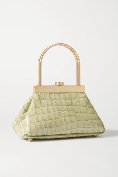 estelle-mini-croc-effect-leather-tote by cult-gaia