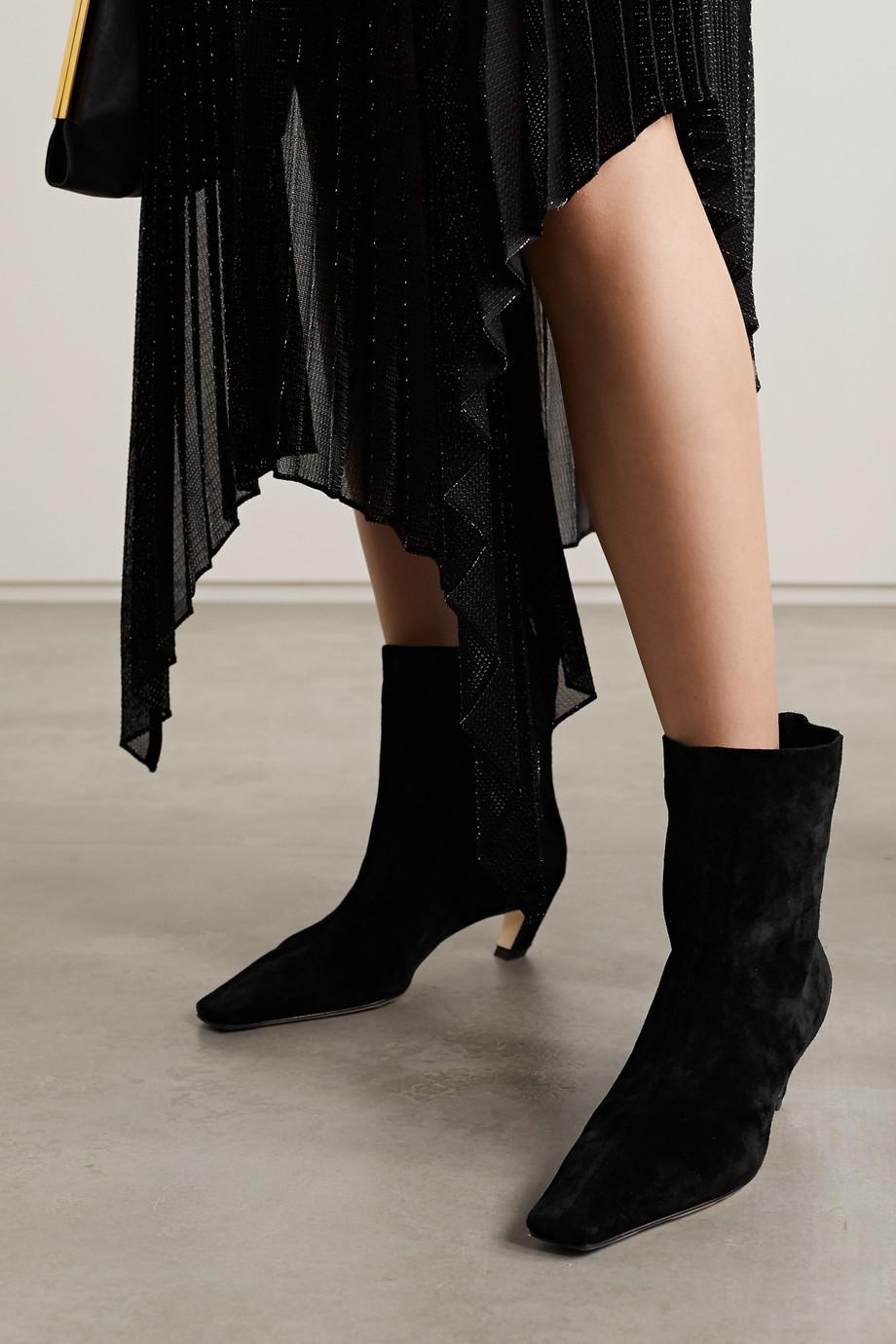 Khaite Stiefel aus Veloursleder