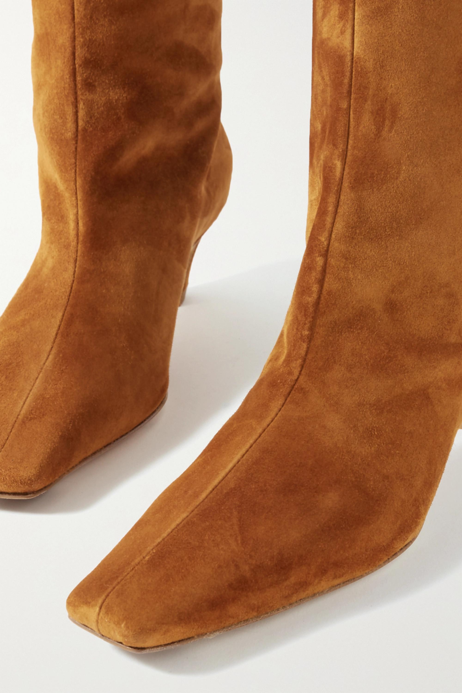 Khaite Suede knee boots