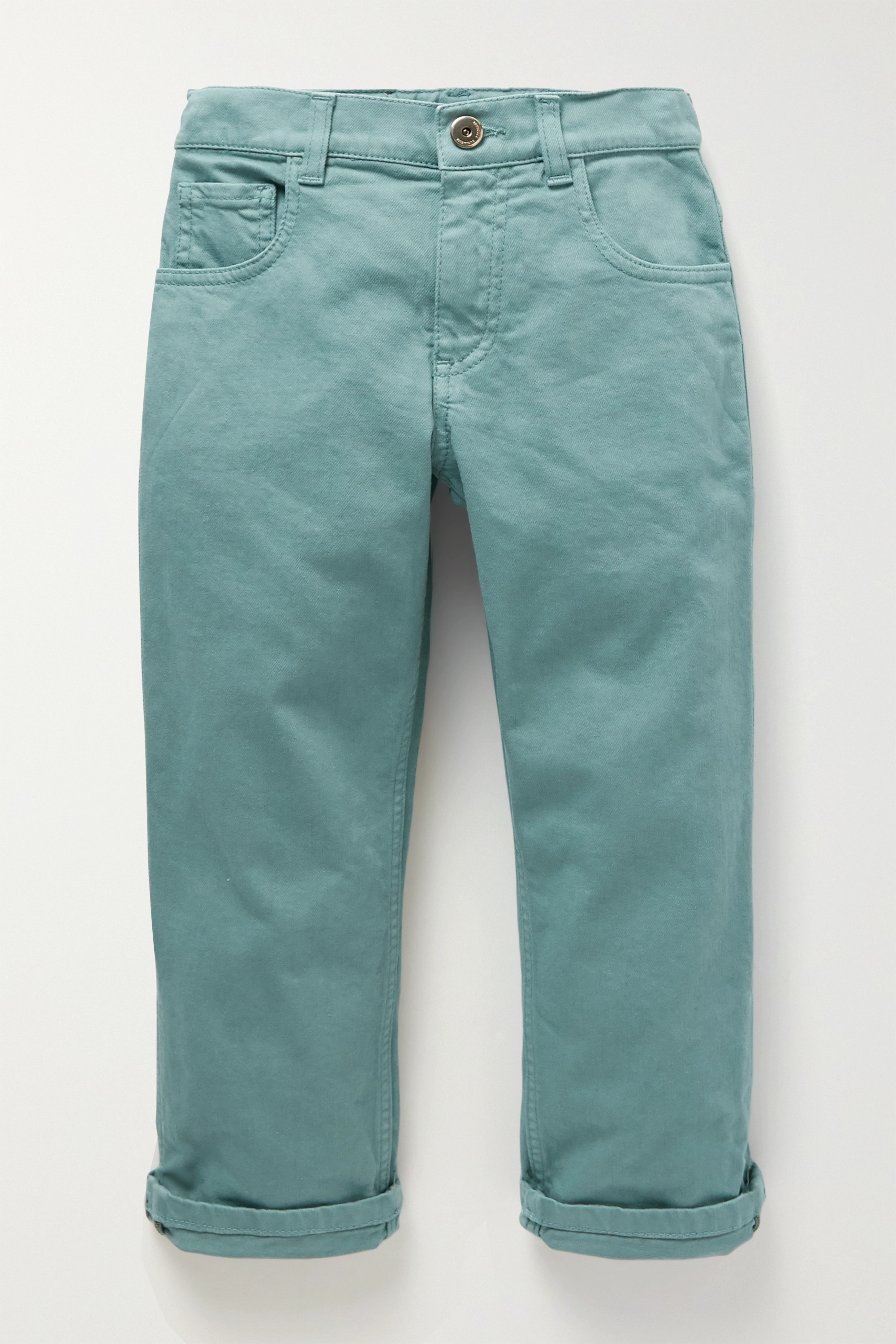 Brunello Cucinelli Kids Ages 4 - 6 bead-embellished jeans