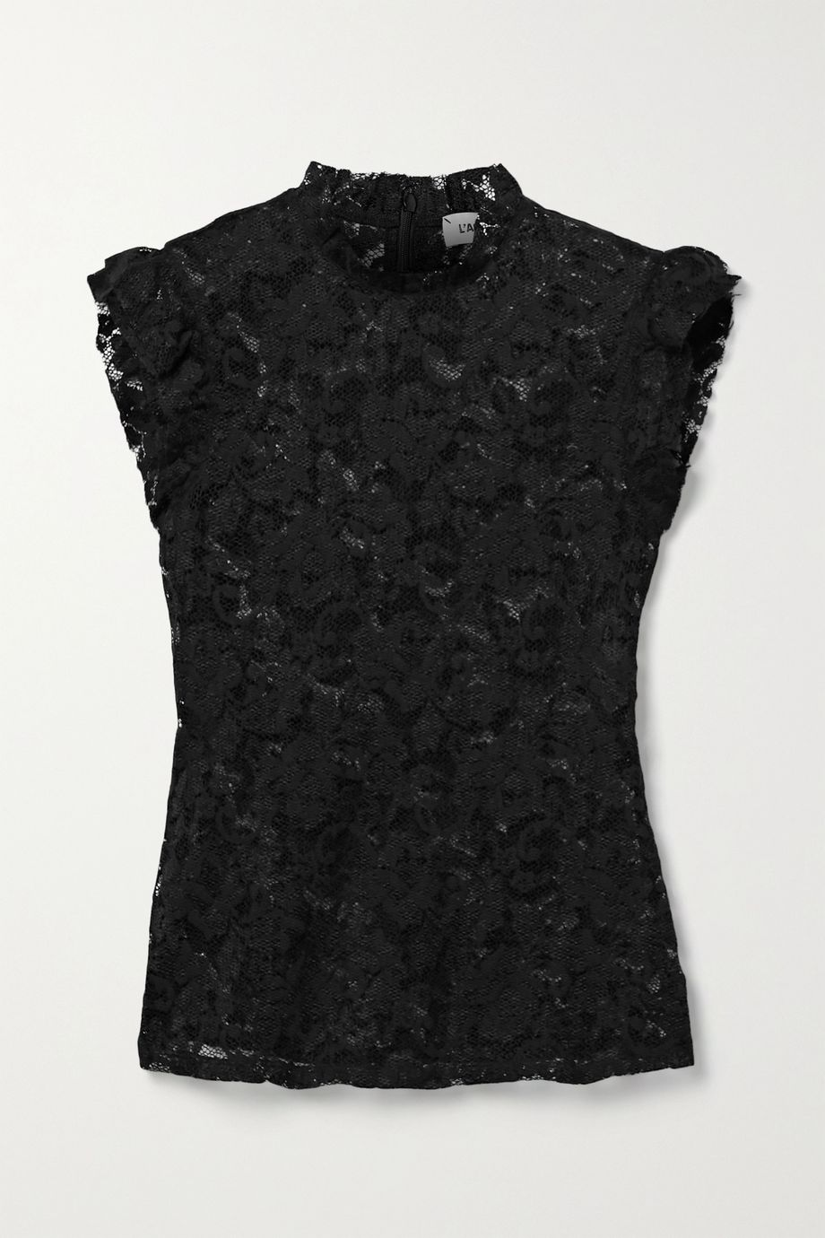 L'Agence Kassia ruffled lace top