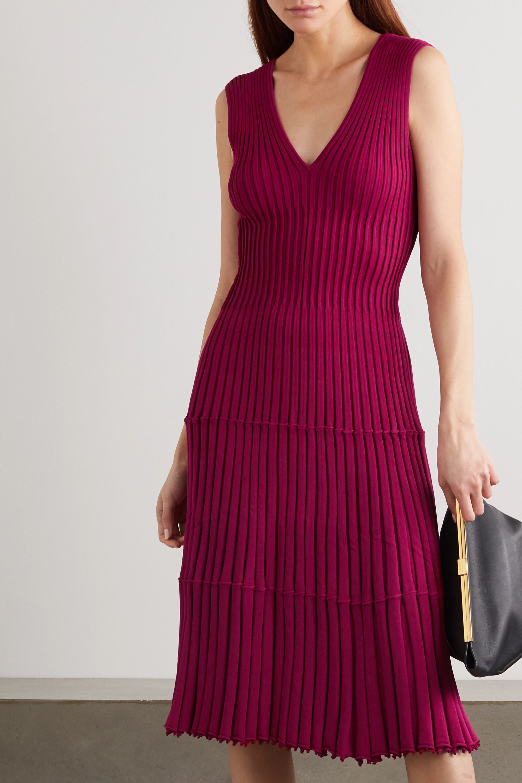Altuzarra Riggs ribbed-knit dress
