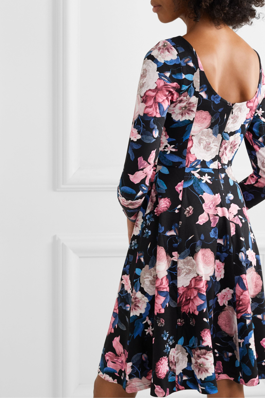 Erdem Martine floral-print stretch-ponte dress