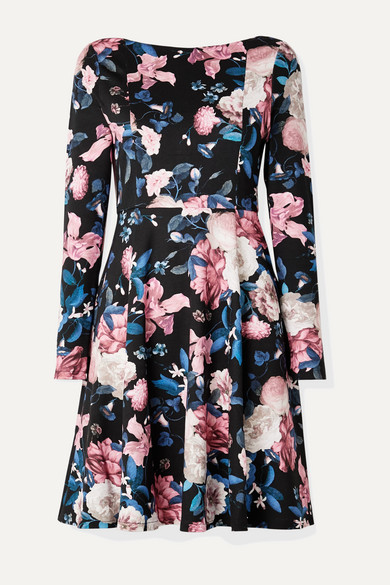 Erdem Dresses Martine floral-print stretch-ponte dress