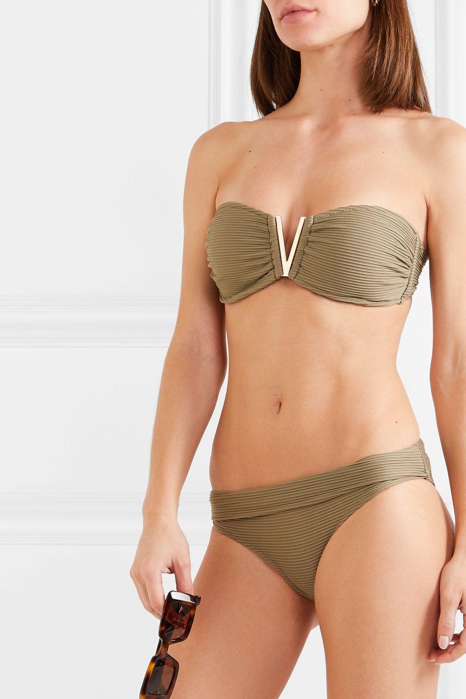 Heidi Klein Ribbed bikini briefs
