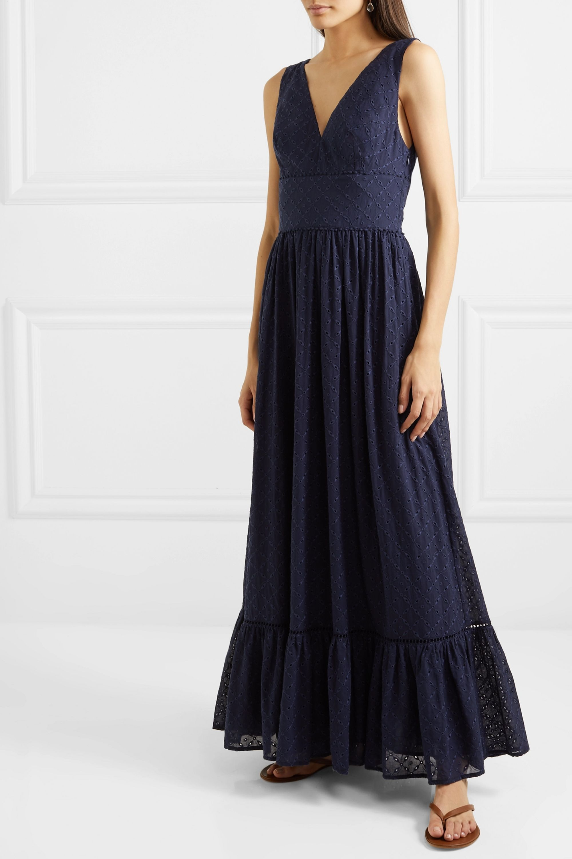 Heidi Klein Tiered broderie anglaise cotton maxi dress