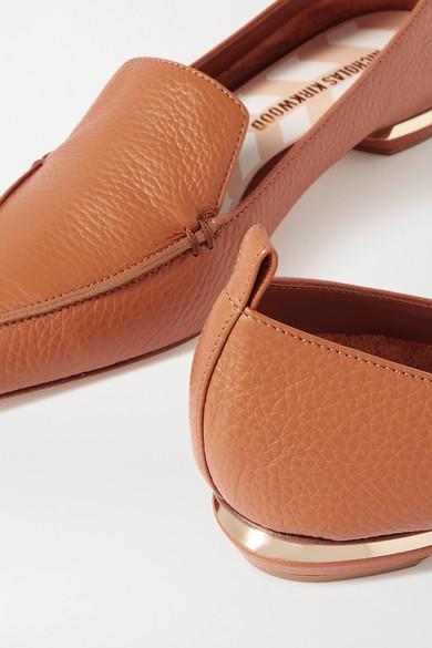 Beya Textured Leather Loafers by Nicholas Kirkwood