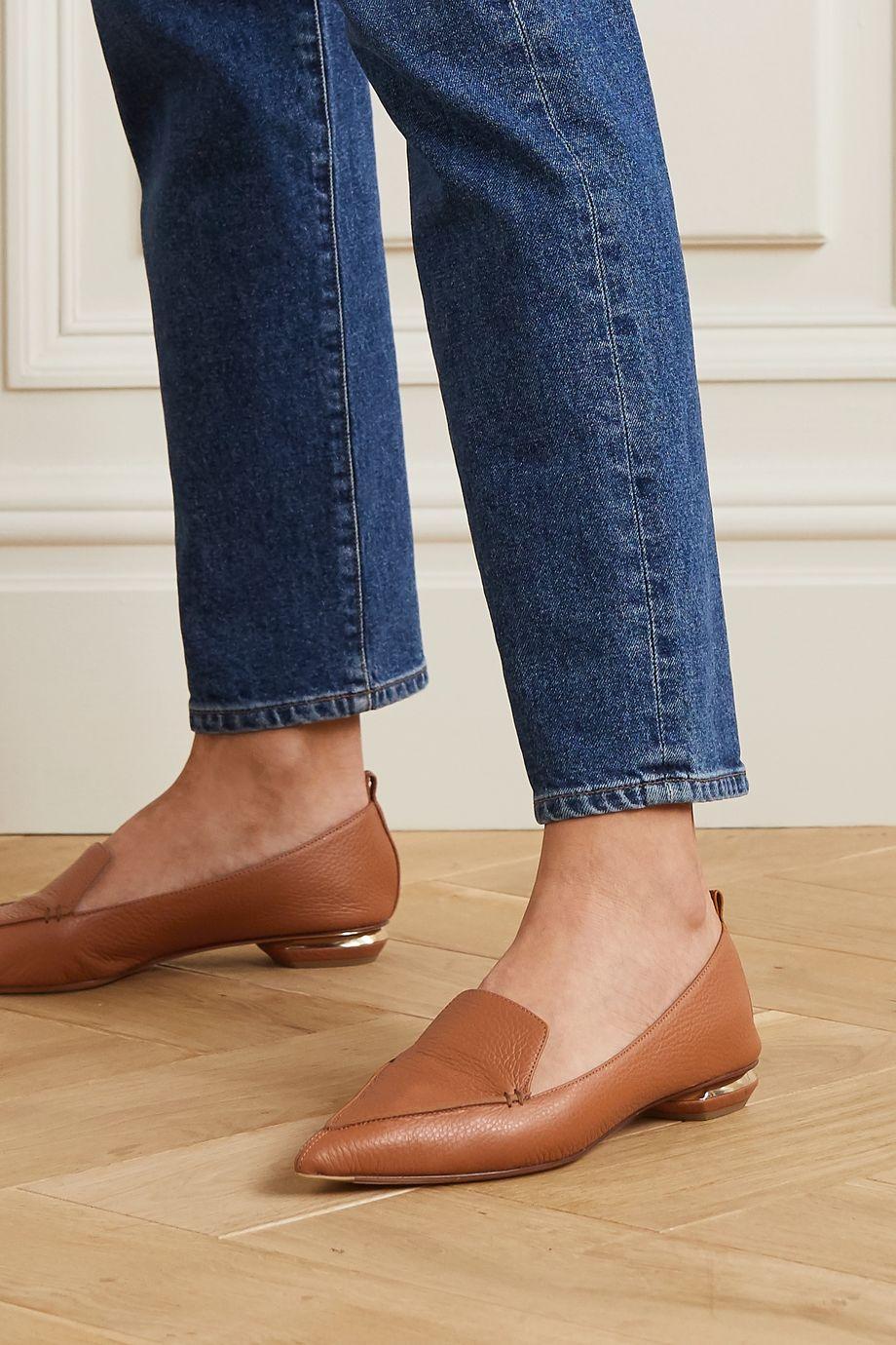 Nicholas Kirkwood Beya textured-leather loafers