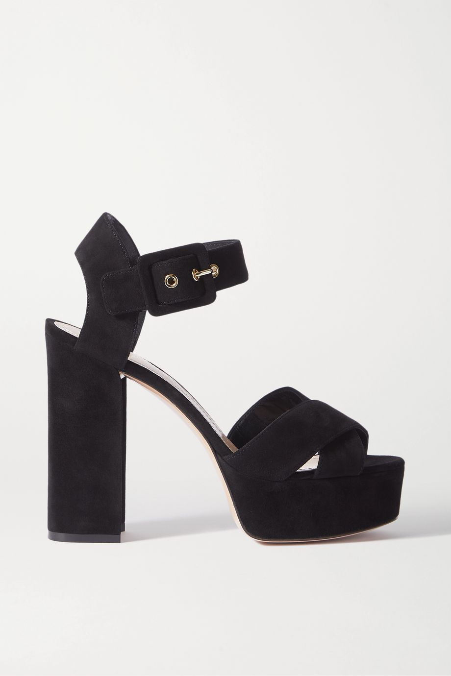 Nicholas Kirkwood Essential suede platform sandals