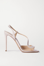 Nicholas Kirkwood S leather and PVC sandals