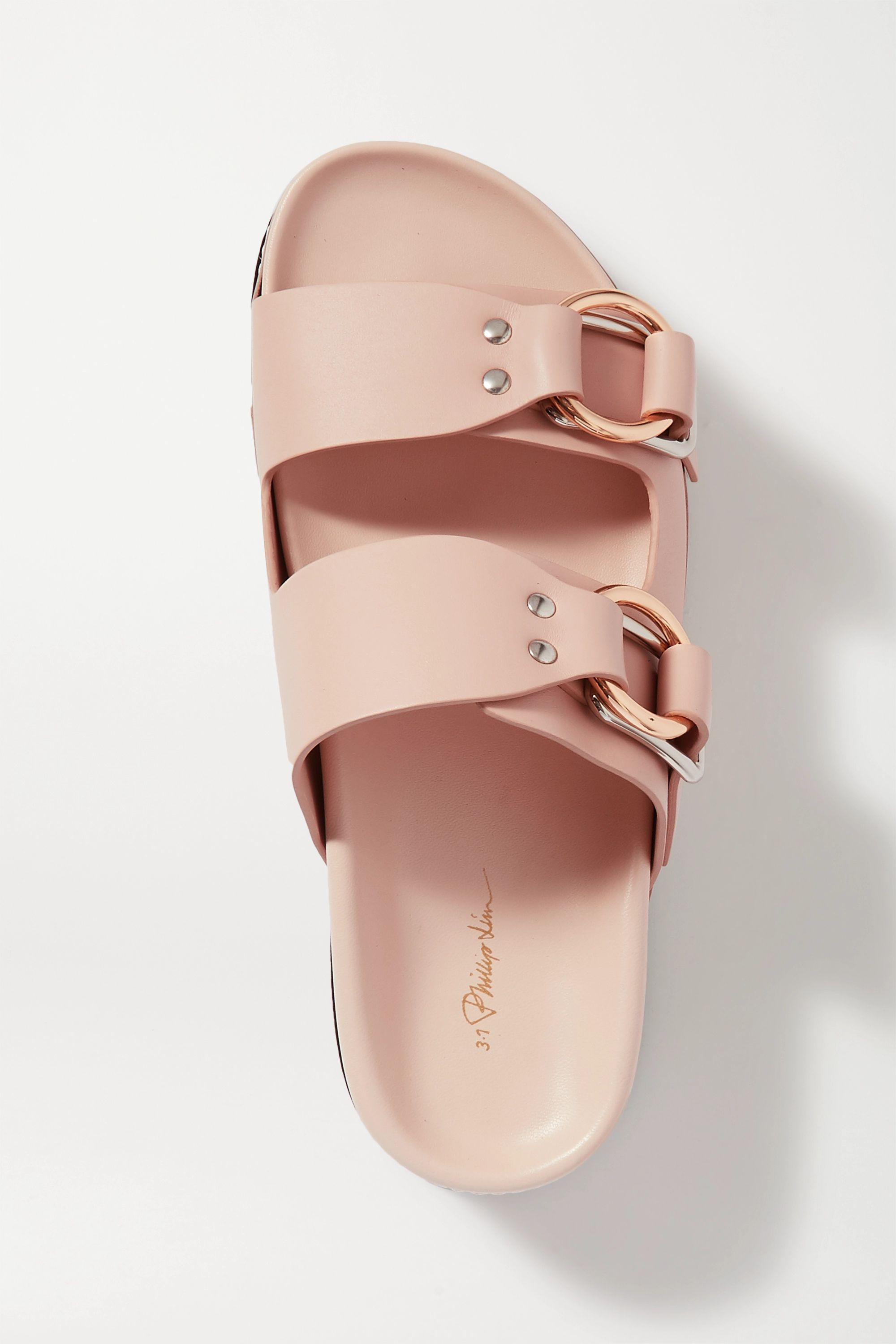 3.1 Phillip Lim Freida leather platform sandals