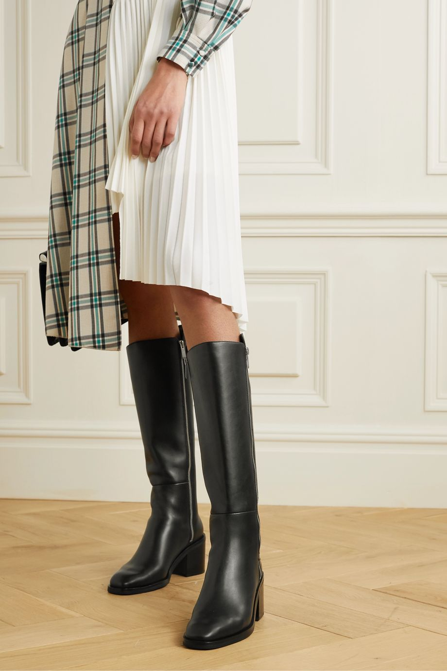 3.1 Phillip Lim Alexa leather knee boots