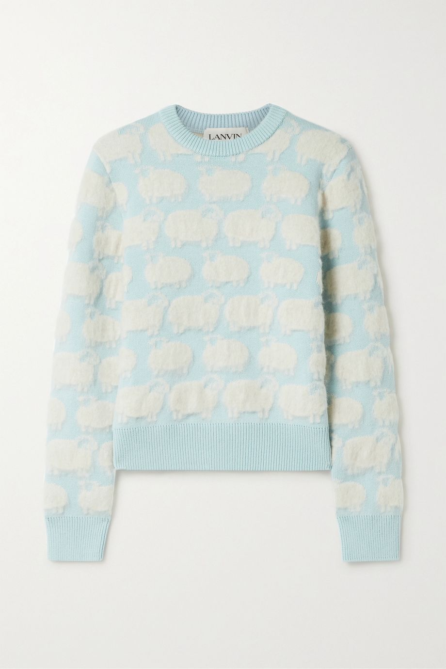 Lanvin Jacquard-knit sweater