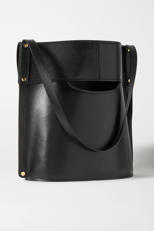 Chloé Aby 光滑皮革纹理皮革手提包