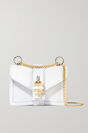 Chloé Aby Chain mini textured and smooth leather shoulder bag