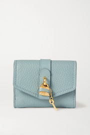 Aby textured-leather wallet