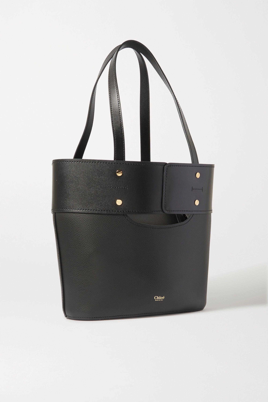 Chloé Aby 纹理皮革手提包