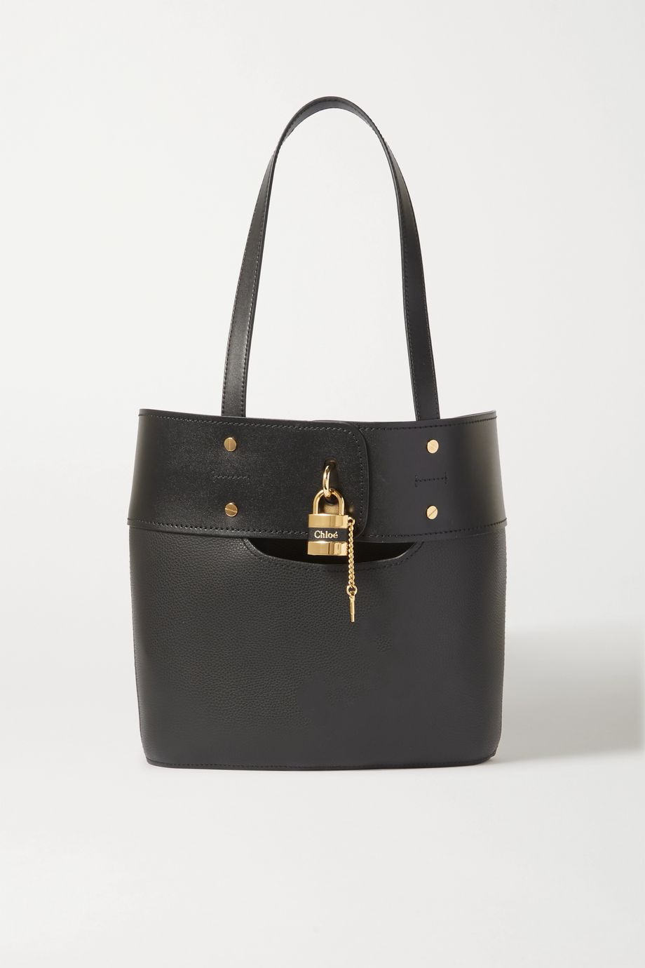 Chloé Aby textured-leather tote