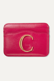 Chloé C leather cardholder