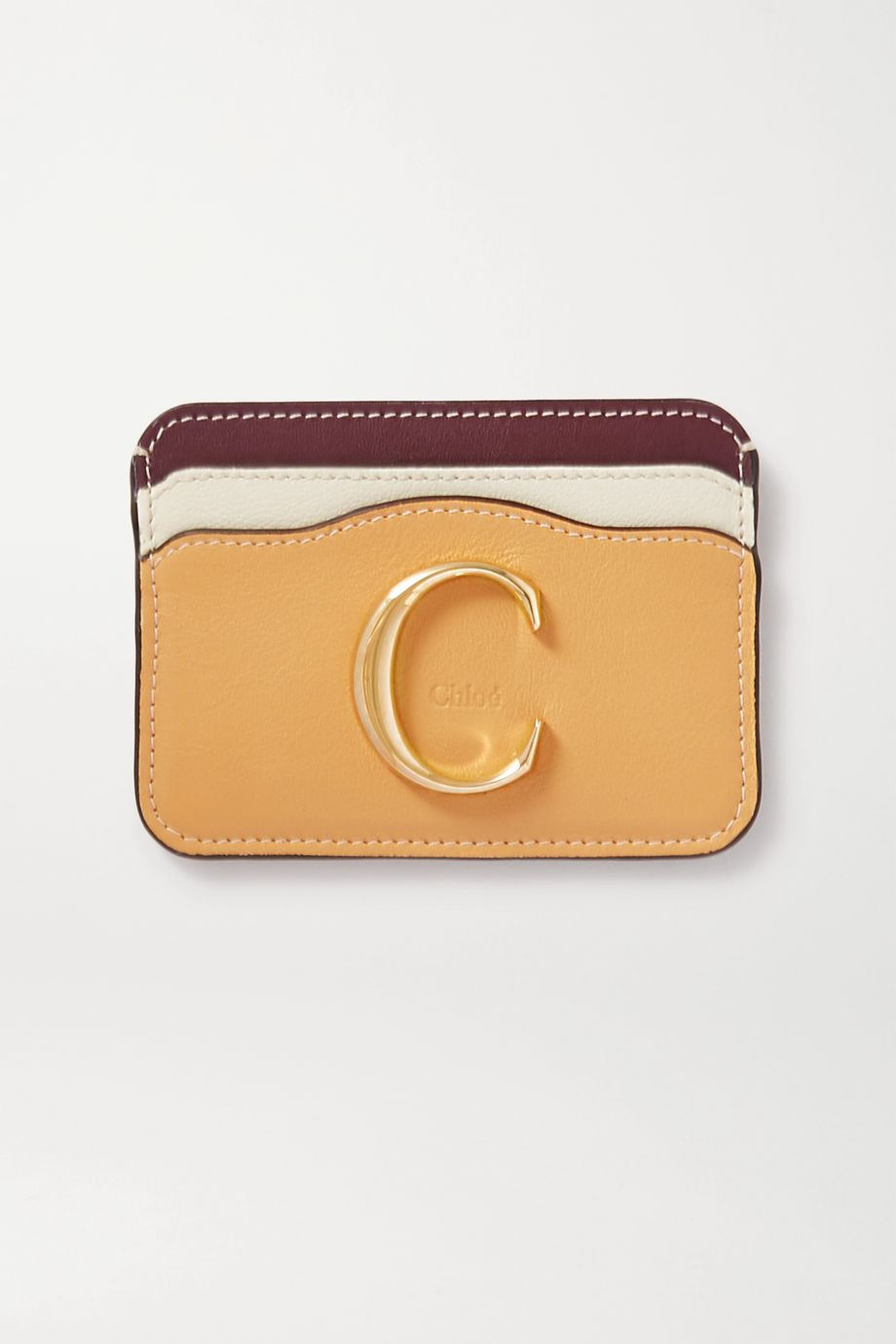 Chloé Chloé C leather cardholder