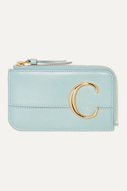 Chloé C small leather cardholder