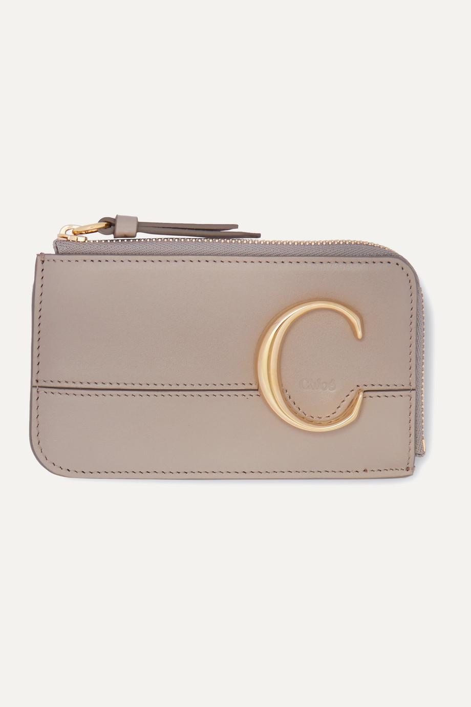Chloé Chloé C small leather cardholder