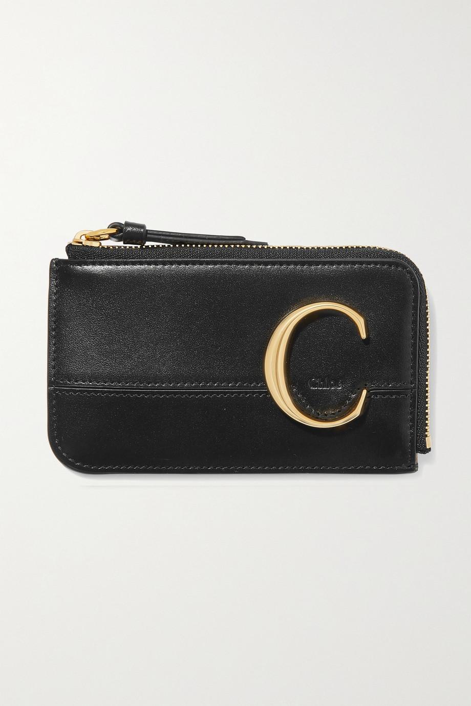 Chloé Porte-cartes en cuir Chloé C