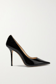 Jimmy Choo Love 100 patent-leather pumps