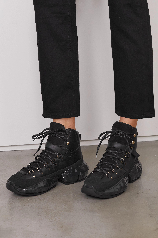 suede sneakers | Jimmy Choo | NET-A-PORTER