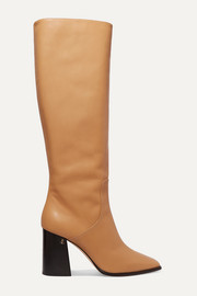 Jimmy Choo Brionne 85 leather knee boots