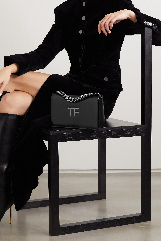 TOM FORD TF Chain medium leather shoulder bag