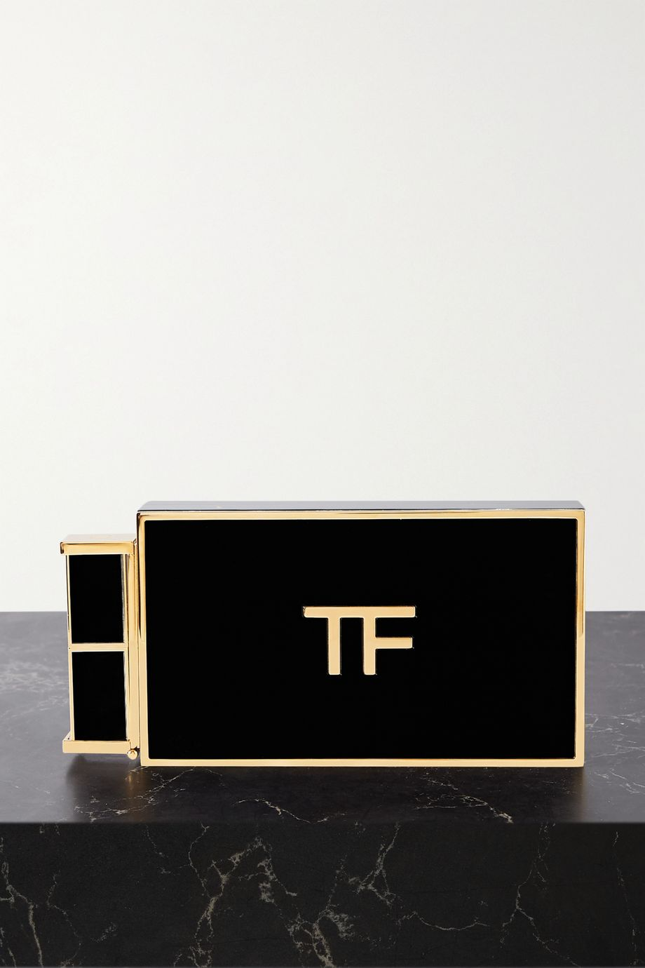 TOM FORD Lipstick small Plexiglas clutch