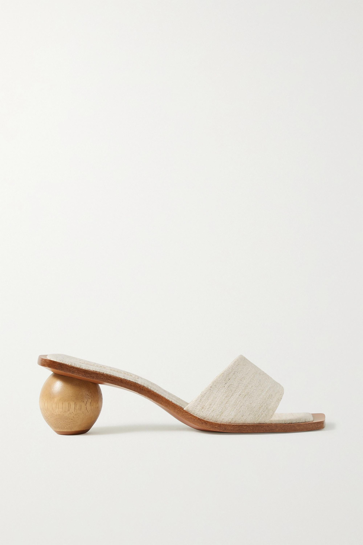 Cult Gaia Tao canvas sandals