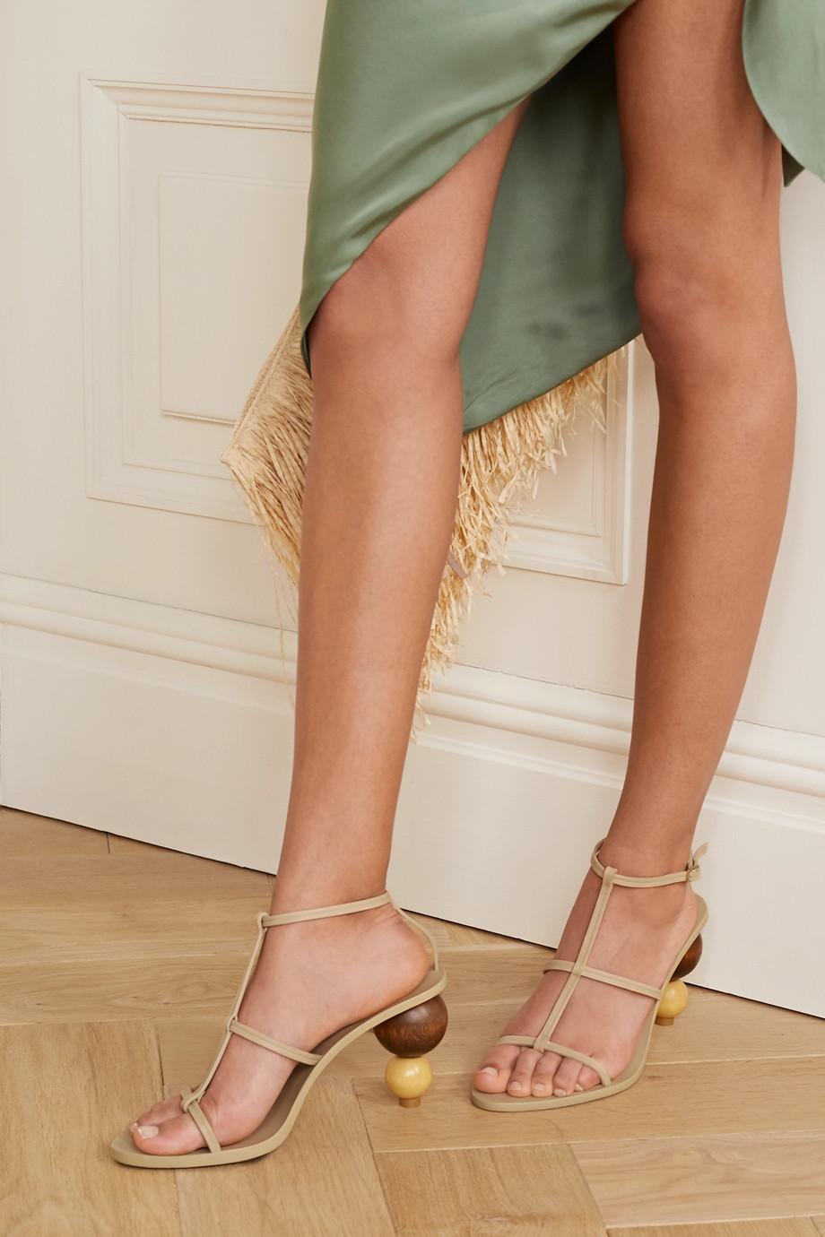 Cult Gaia Eden leather sandals