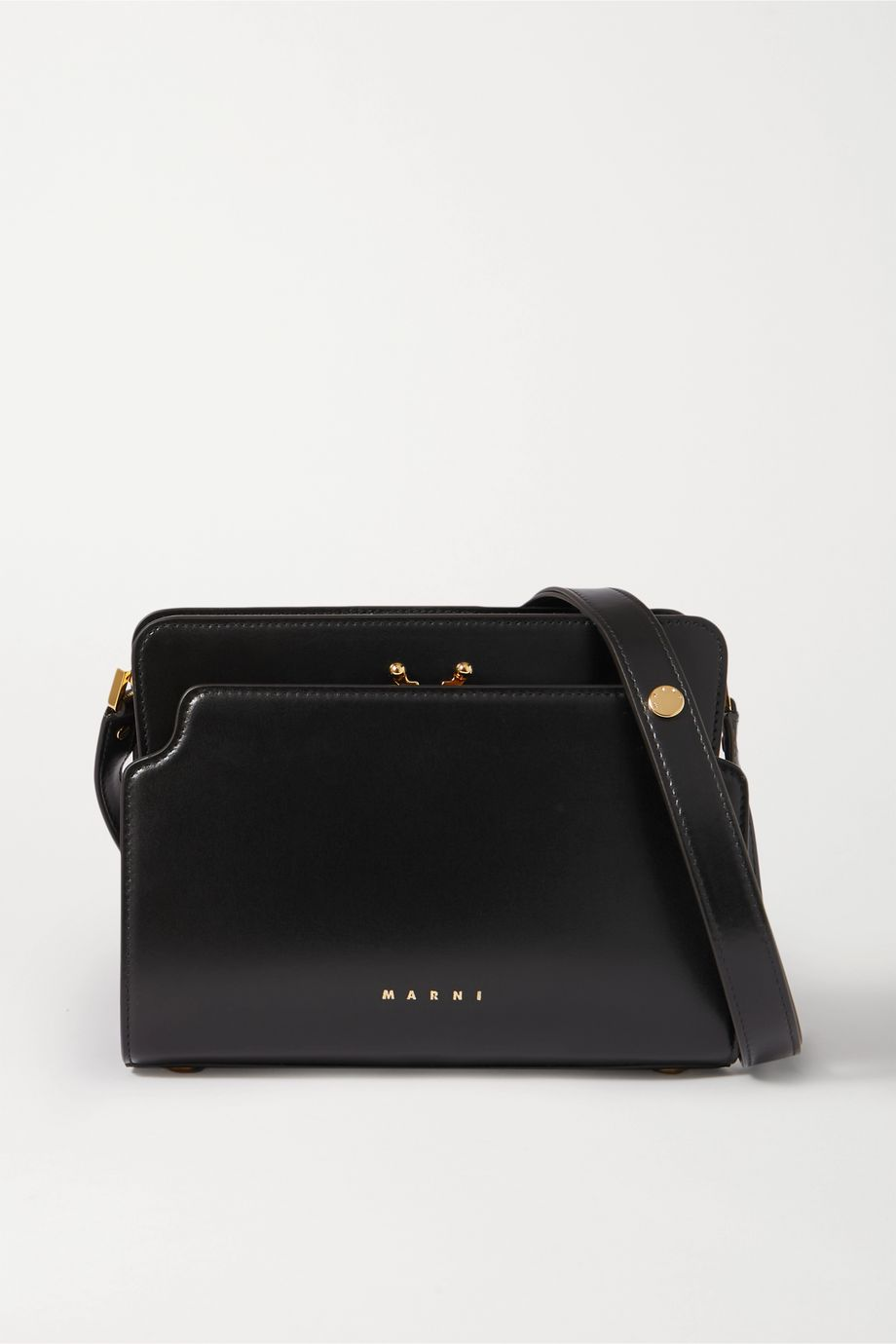 Marni Trunk Reverse small leather shoulder bag