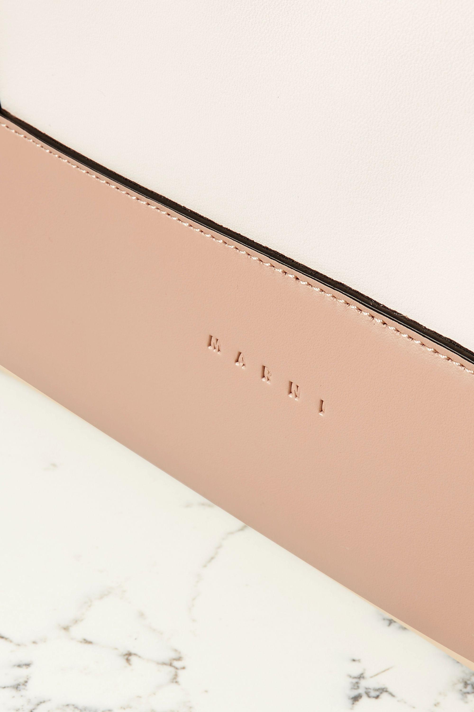 Marni Color-block leather tote