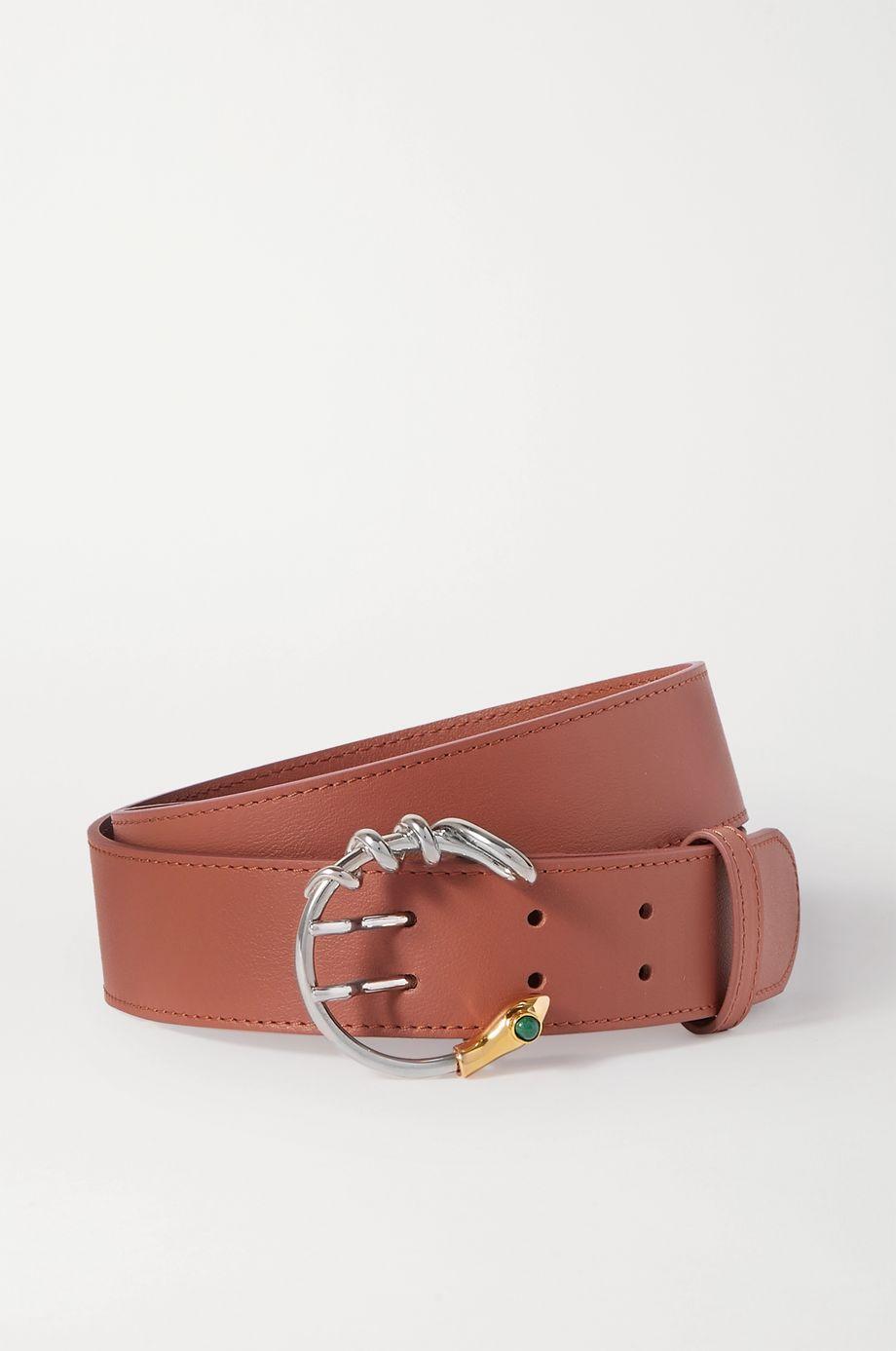 Chloé Roy leather waist belt