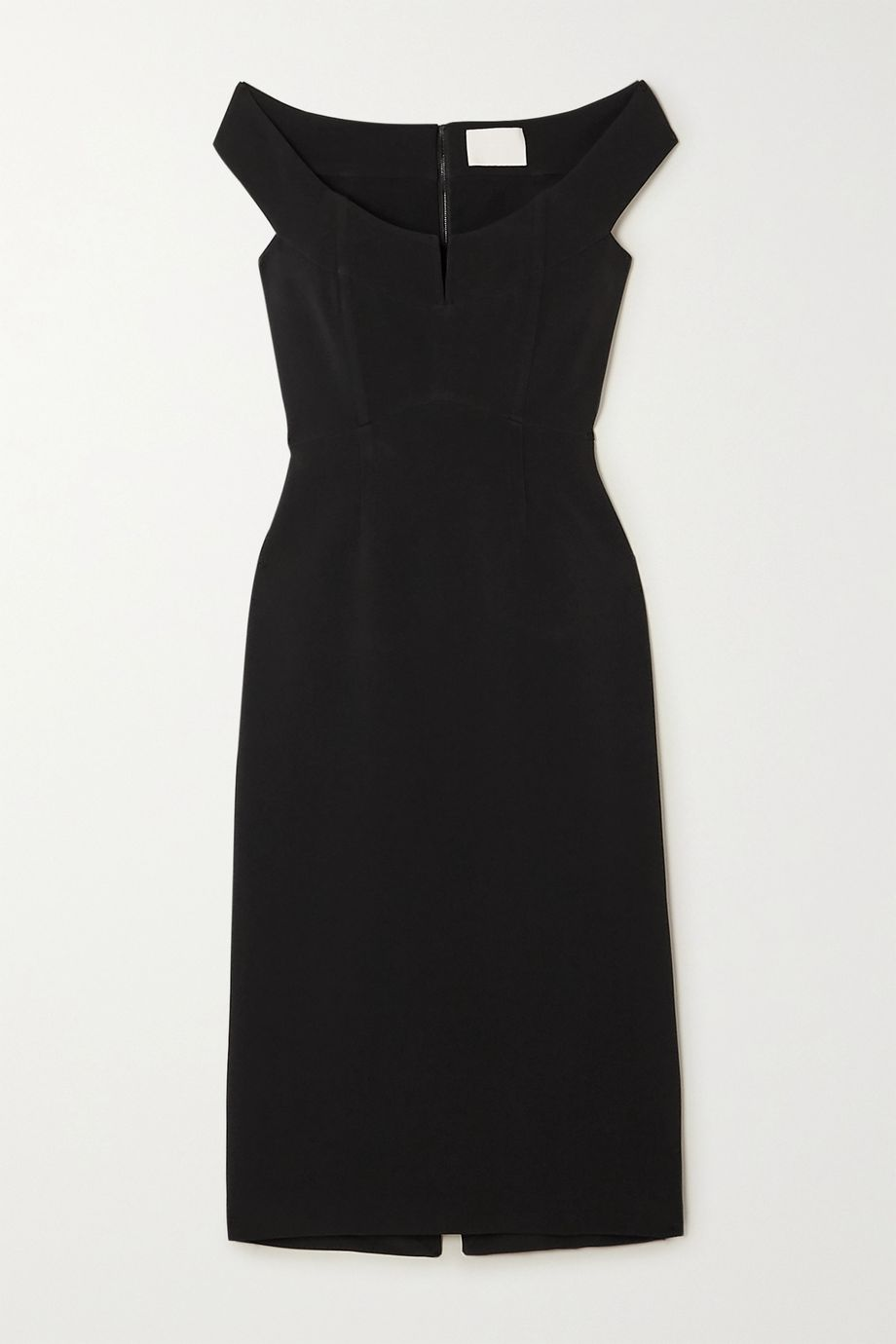 Dion Lee Off-the-shoulder stretch-cady bustier dress