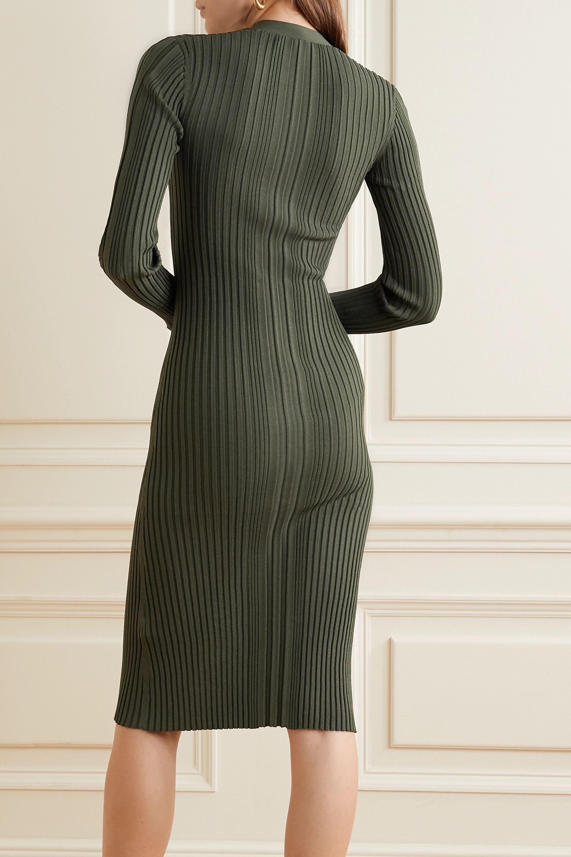 Dion Lee Pinnacle ribbed-knit dress