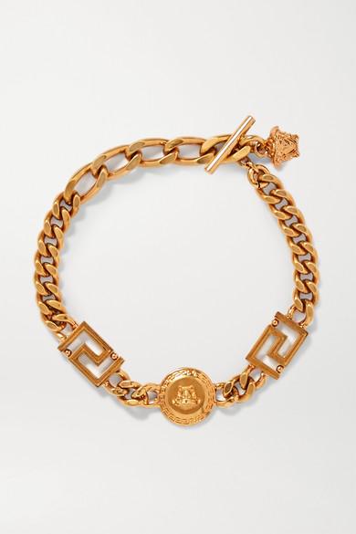Gold Tone Bracelet by Versace