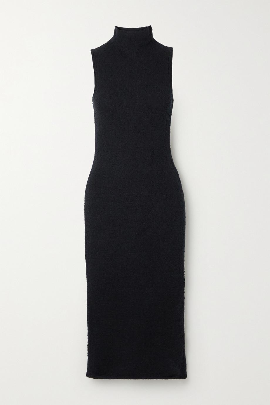 Mara Hoffman + NET SUSTAIN Rory stretch organic cotton-cloqué midi dress