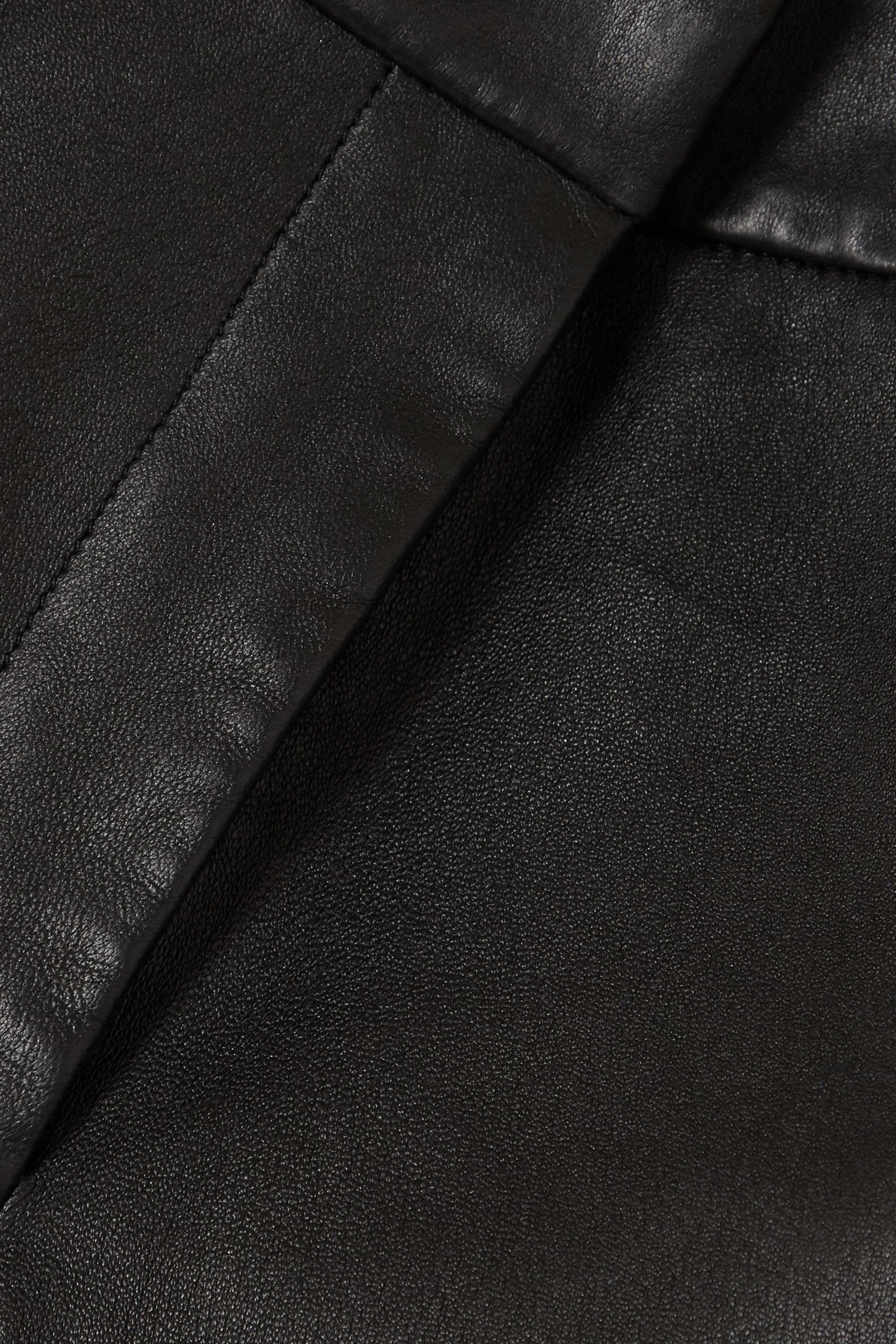 Joseph Coleman leather slim-fit pants