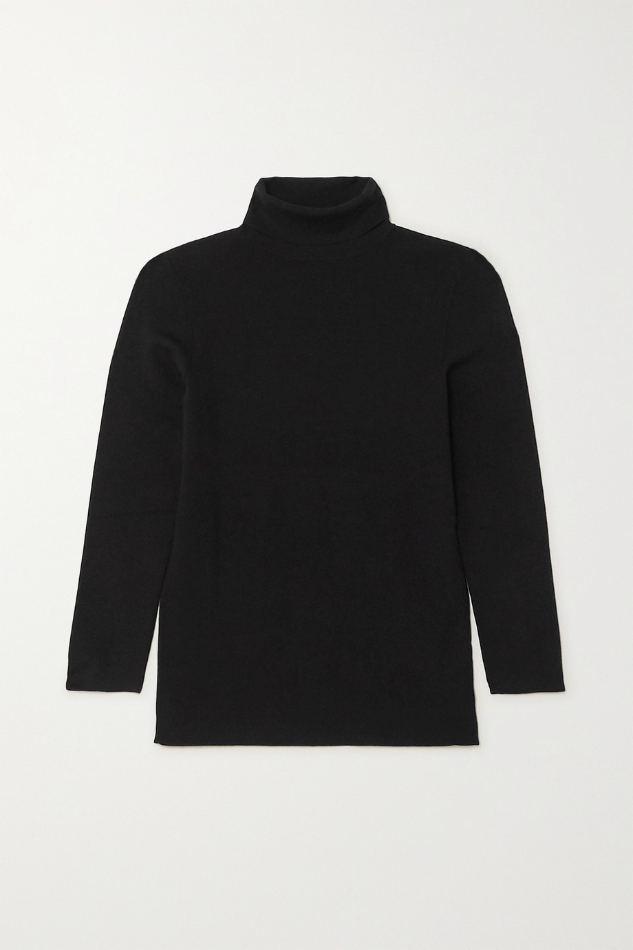 Joseph Silk-blend turtleneck top