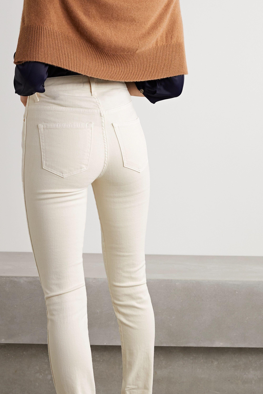 Khaite Vivian 高腰窄腿牛仔裤