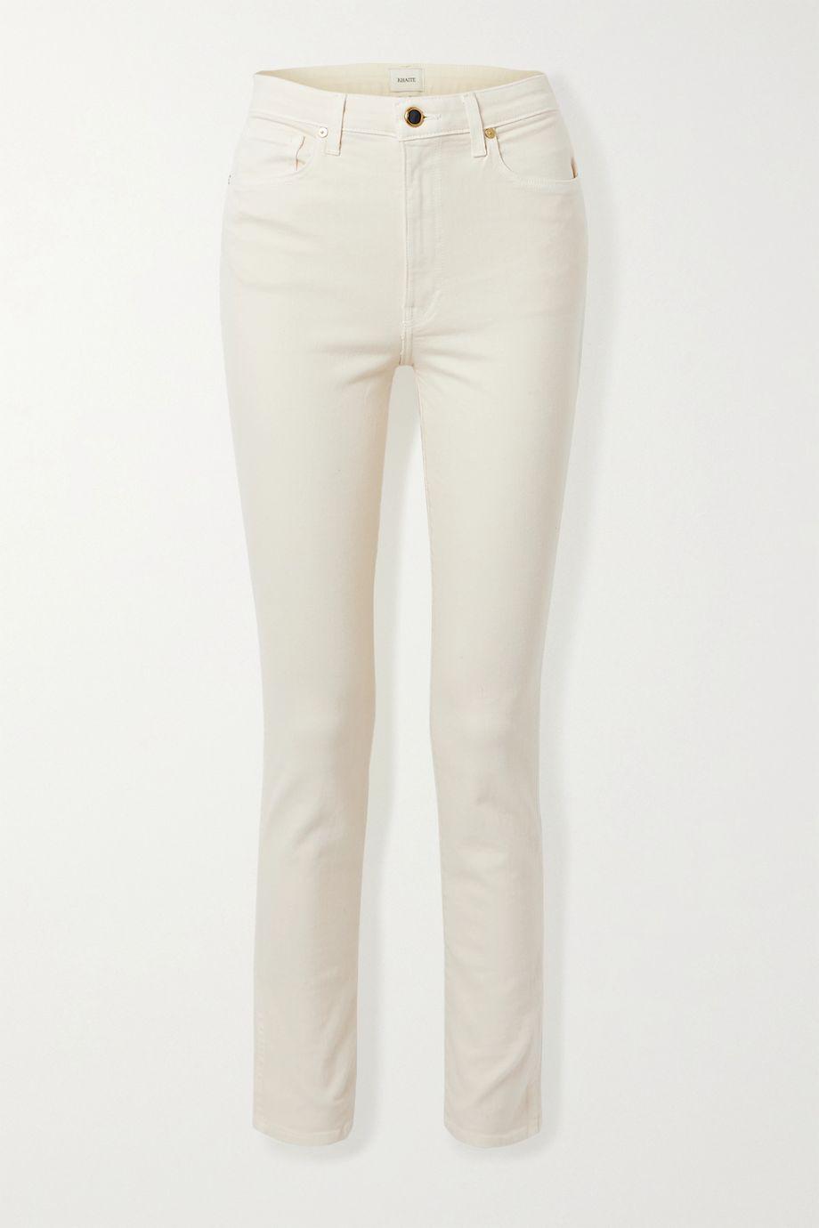 Khaite Vivian high-rise slim-leg jeans